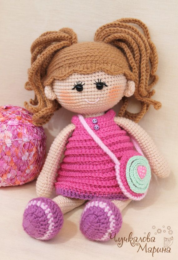 Crochet doll pattern, Crochet dolls and Doll patterns on Pinterest