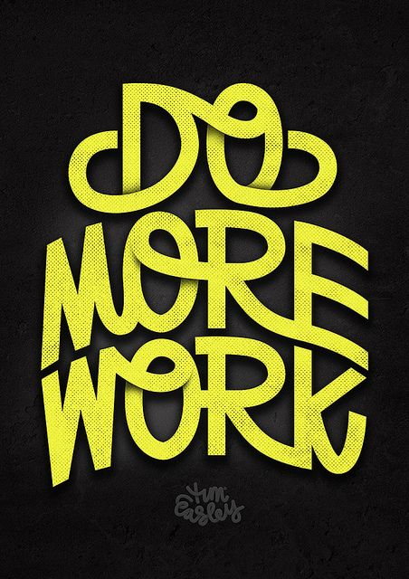 typhography | do more work