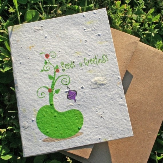 19 best paper craft images on pinterest papercraft flower seeds seeds n greetings christmas bean a plantable card from grace graphics handmade mightylinksfo Choice Image