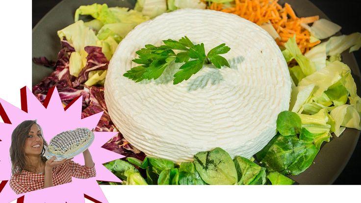 Formaggio Fatto in Casa con Caglio Vegetale/Microbico