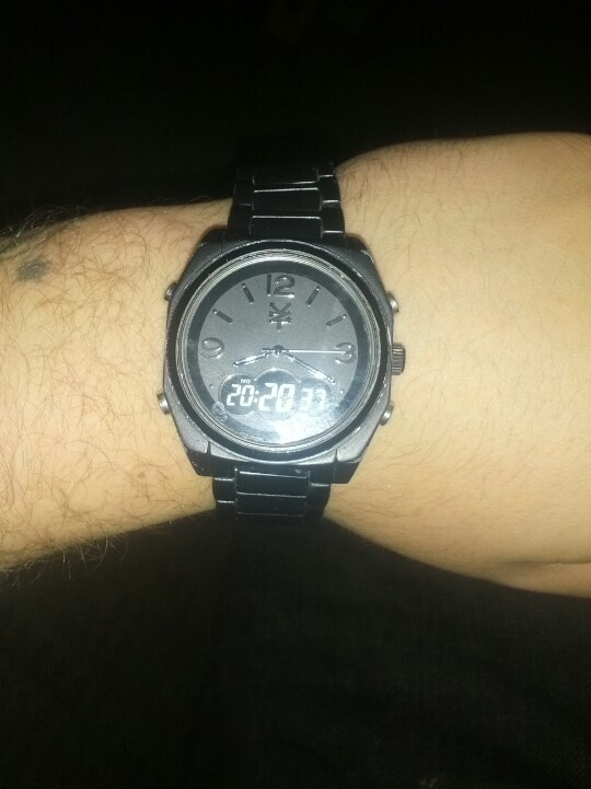 My all black Zoo York watch