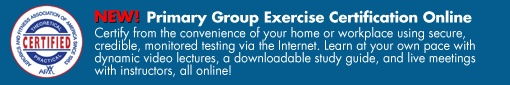 Personal Trainer Certification, Group Exercise Certification and Aerobics Certification - AFAA