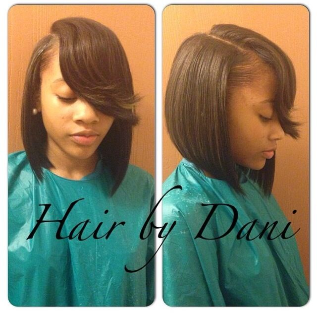 Bob Life. Hair Laid. Sew In
