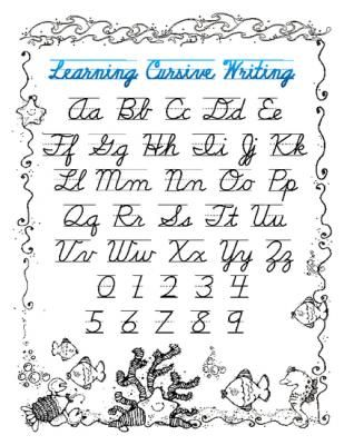 Watch more like Printable Cursive Writing Guide