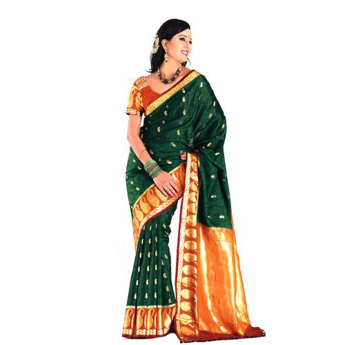 indian-pure-silk-sarees for Women From Klasyy Fashion For more visit @ http://indianfashionhub.wordpress.com/2014/07/05/the-charm-of-silk-sarees/