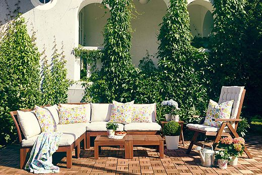 Of course I need all new patio furniture IKEA..how thoughtful of you to - Ikea Patio Furniture Review Rickevans Homes