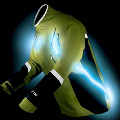 be seen while you jog or bike at night