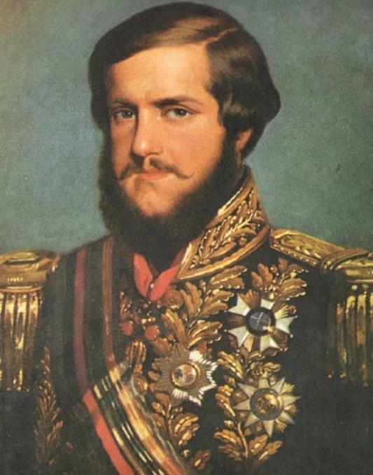 Her Imperial Majesty Dom Pedro II - Emperor of Brazil - beard bearded
