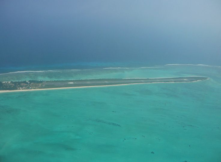 Breathtaking View Of The Agatti Airfield At Lakshadweep. BONUS: Watch A Plane Land On This Airstrip