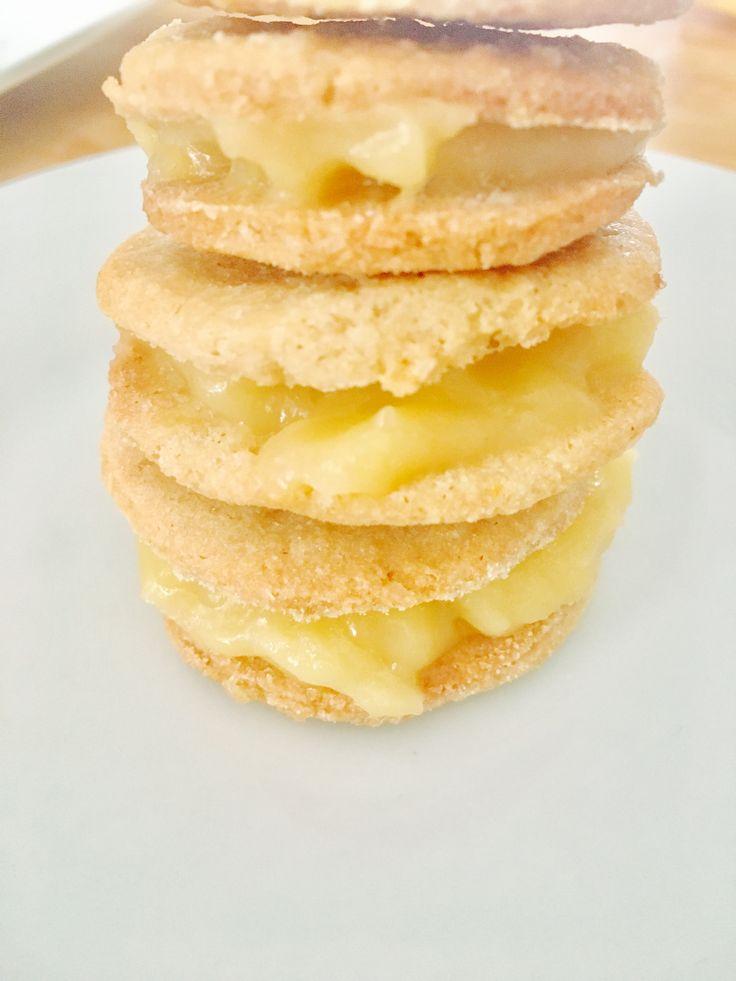 Mes petits sablés au lemon -curdno gluten..blissandfoodies