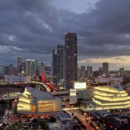 Fourth Fastest-Growing In America Downtown Miami, zip code of 33132