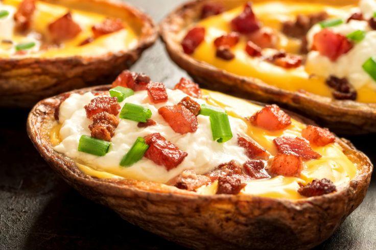 http://yemek.com/tarif/firinda-patates-kabuklari/ | Fırında Patates Kabukları Tarifi