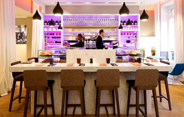 Café Kousmichoff  RUSKII VISO inc. #VISO #DARK #KUSMI #TEA #project at Paris France