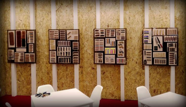 Diseñamos y construimos tres stand para la feria de los bienes de consumo, Ambiente. Toyma, Iris y Viuda Julián Nuñez