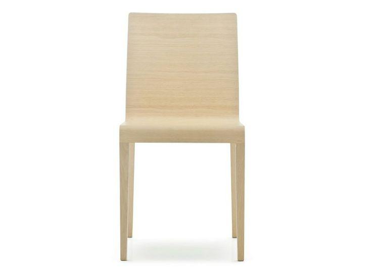 Sedia in legno massello YOUNG Collezione Young by PEDRALI