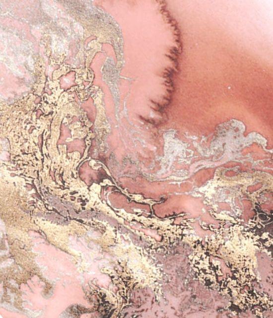 Rosegold Marble Canvas Print Pinteres