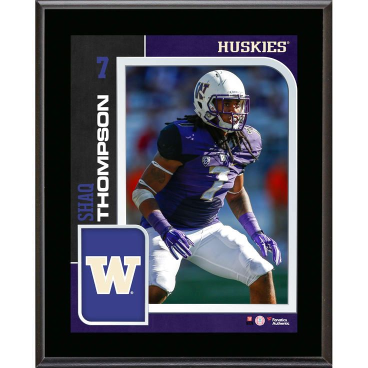 Shaq Thompson Washington Huskies Fanatics Authentic 10.5'' x 13'' Sublimated Player Plaque - $23.99