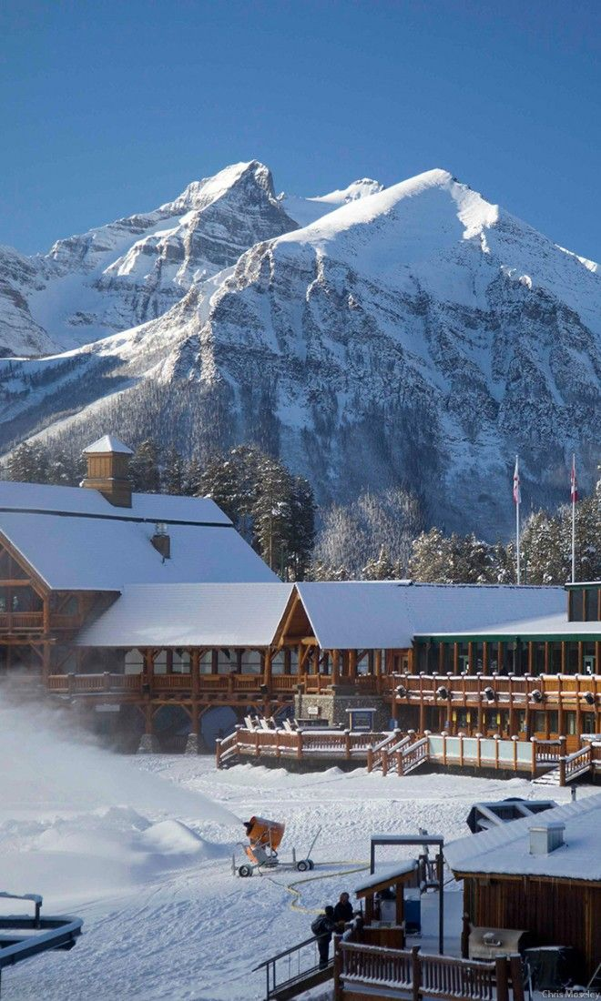 One of the most photographed spots in Banff National Park, the Lake Louise Ski Resort and The Chateau Lake Louise illustrate why the area is considered a bucket list destination.  For your chance to win a 7-night dream vacation visit