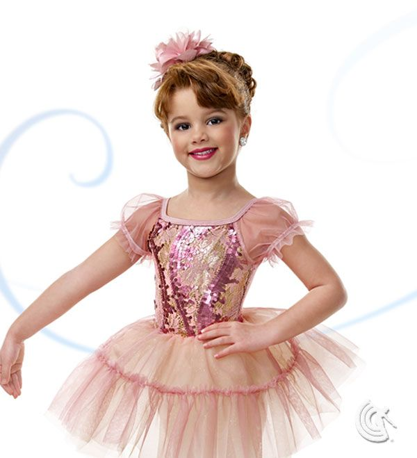 Curtain Call Costumes® - Tint Of Blush Kids or baby ballet dance costume