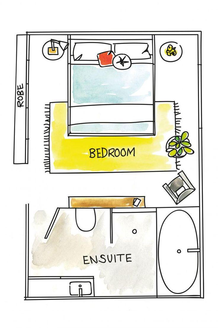 Bedroom Layout Design Stunning Best 25 Bedroom Layouts Ideas On Pinterest  Small Bedroom Design Ideas