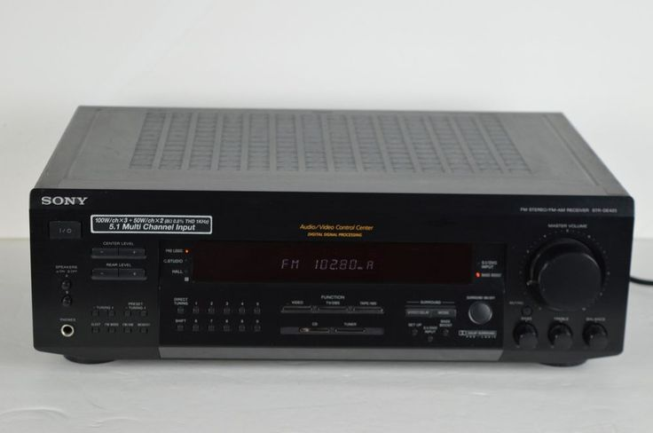 #Sony #STR-DE425 #FM/AM #Stereo #Receiver #Dolby #Surround #Sound #Amplifier #NOREMOTE #Sony