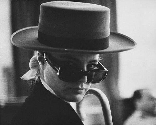 Romy Schneider par Milton Greene, 1960's