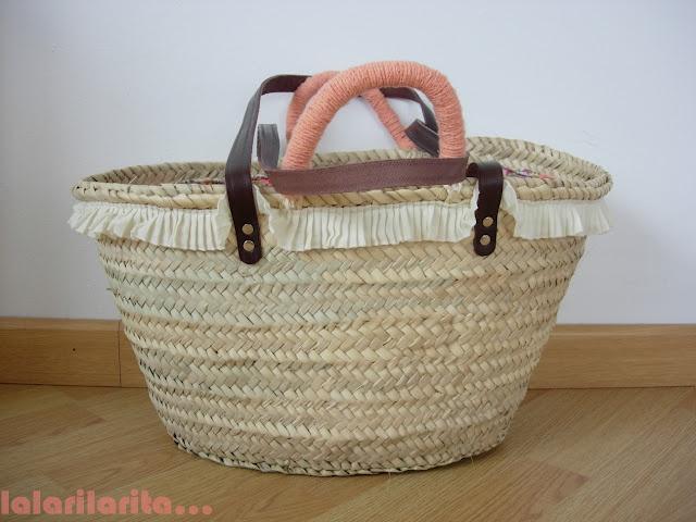 Straw Bag / Coral Beach