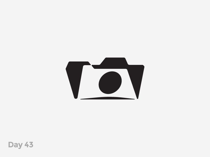 Daily Logo 43/50 - Photo Folder Logo by Pavlo Plakhotia