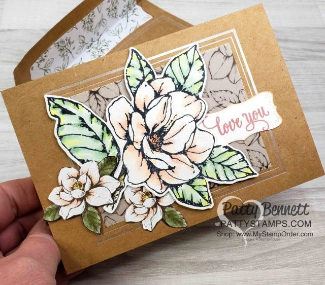 Good Morning Magnolia Bundle From Stampin Up With border=