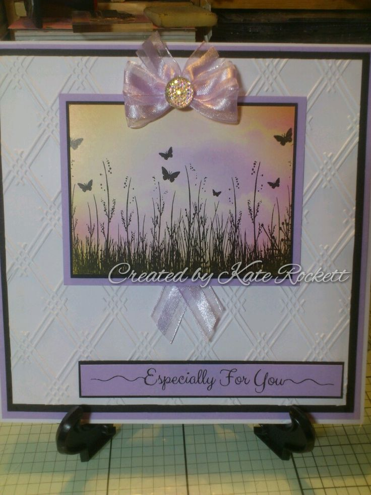 Made with alcohol inks and Phill Martin's Sentimentally Yours stamps