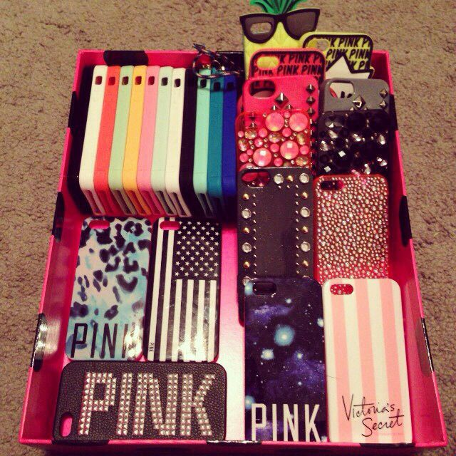 xo omg... i would be in love with all those cases!