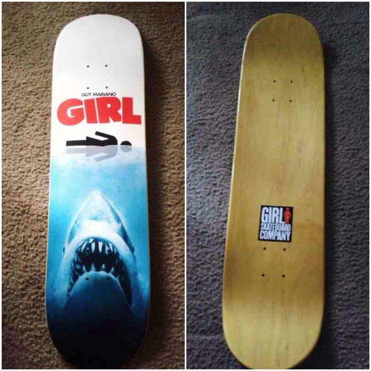 Deck of the day | Girl | Guy Mariano   #guymariano #girlskateboards #sk8face