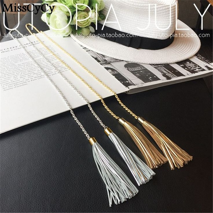 2016 New Vintage Jewelry Necklaces & Pendants Fashion Long Tassels Bohemia Leather Necklaces Women