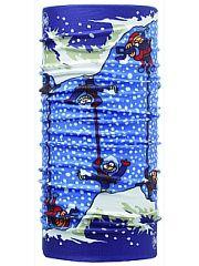 Многофункциональный снуд ORIGINAL KUKUXUMUSU ORIGINAL ALNANGA Buff.  Бесшовная бандана-труба из специальной серии Original BUFF. Original BUFF - самый популярный универсальный головной убор из всех серий. Сделан из микрофибры - защищает от ветра пыли влаги и ультрафиолета. Контролирует микроклимат в холодную и теплую погоду отводит влагу. Ткань обработана ионами серебра обеспечивающими длительный антибактериальный эффект и предотвращающими появление запаха. Допускается машинная и ручная…