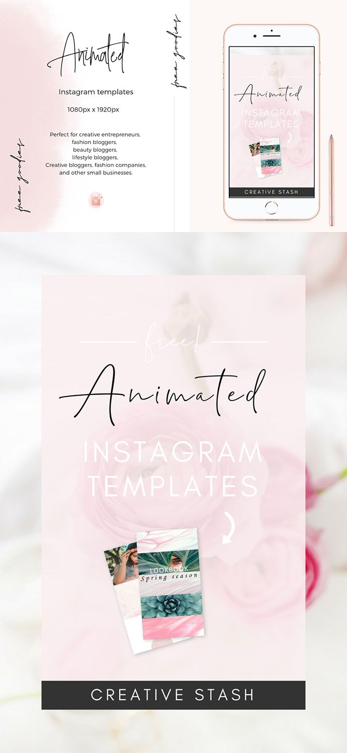 Awesome Animated Instagram Story Template Free Download Design Instagram Template Free Instagram Template Design Instagram Story Template