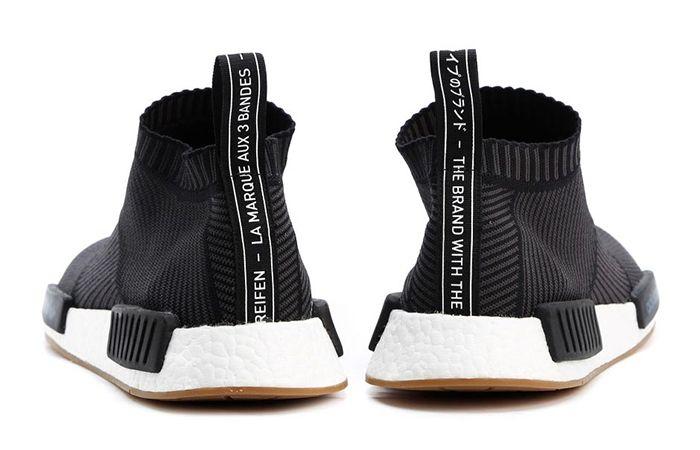 adidas NMD City Sock Black Gum BA7209 a