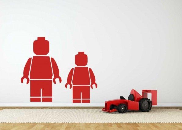 Muursticker Lego Minifiguur | Muurstickers Kids | MUURSTICKERS /101WOONSTICKERS
