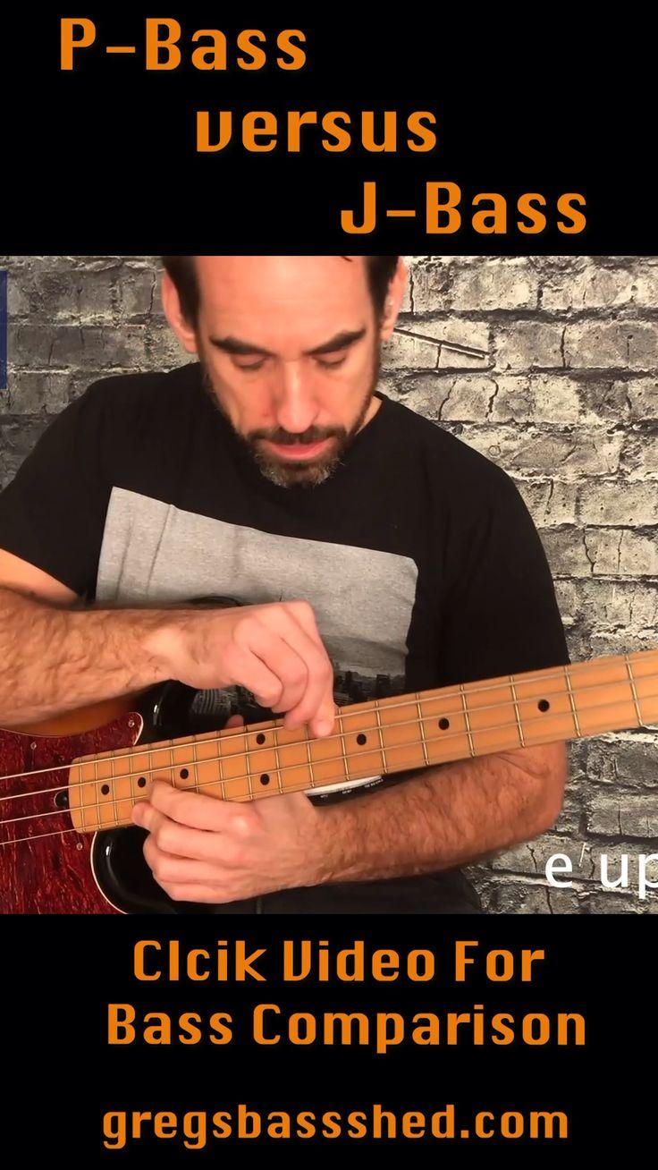Bass video comparison between a PBass (Precision Bass