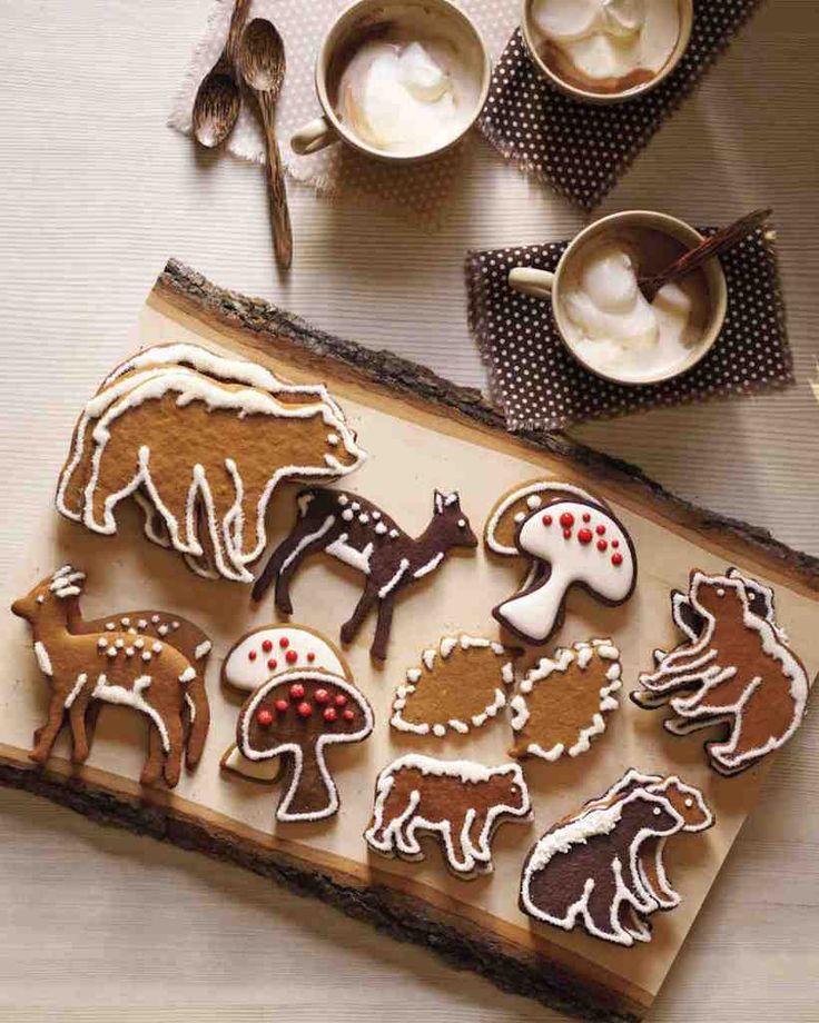 honey spice gingerbread cookies
