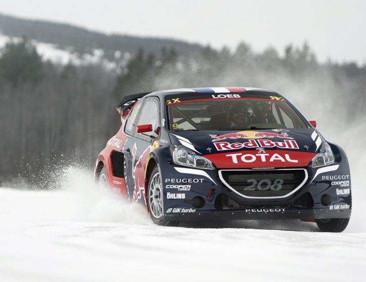 Peugeot 208 rallycross car