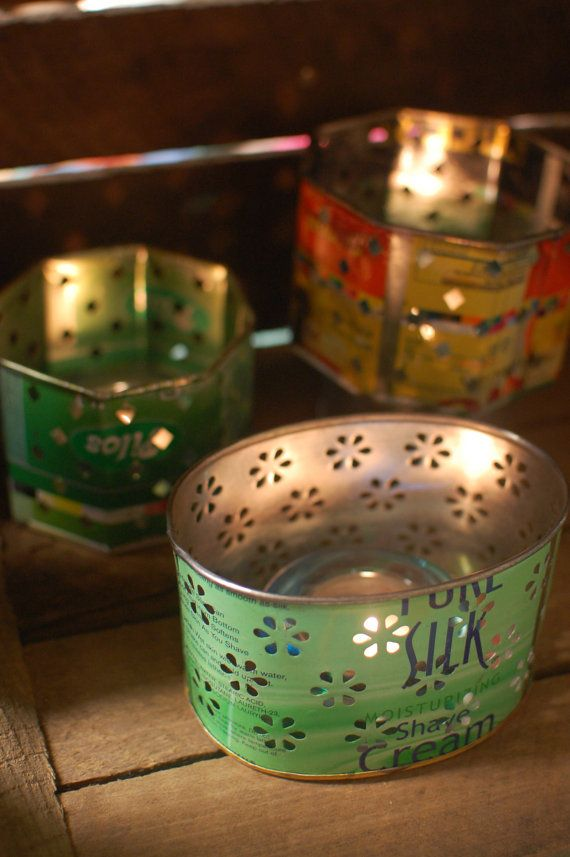17 best images about punched tin candlewicking on - Punched metal candle holder ...