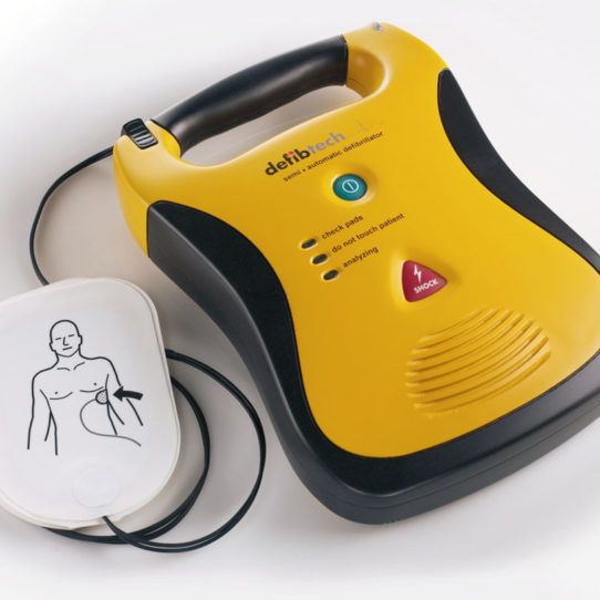 Shop for Defibtech Lifeline AED Semi Automatic Defibrillator- $2,600  AEDs are essential for the emergency treatment of Sudden Cardiac Arrest. Buy the Defibtech Lifeline AED from Priority First Aid now. Get more informaiton regarding the Lifeline AED and more at the website - https://priorityfirstaid.com.au/shop/defibrillators/lifeline-aed-semi-automatic-defibrillator-5-year/ #LifepakDefibrillators #traveldefibrillator #cardiacarrestdefibrillator #heartattackdefibrillator…