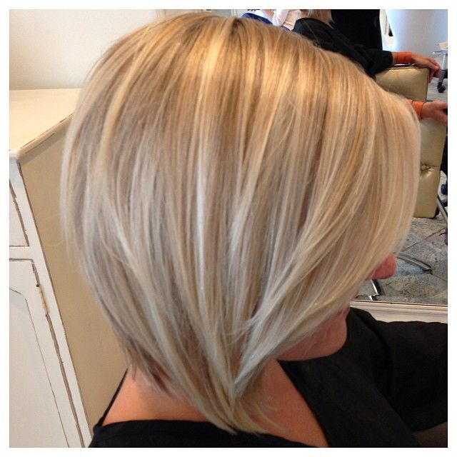 Cute cut!! May do this next with my hair