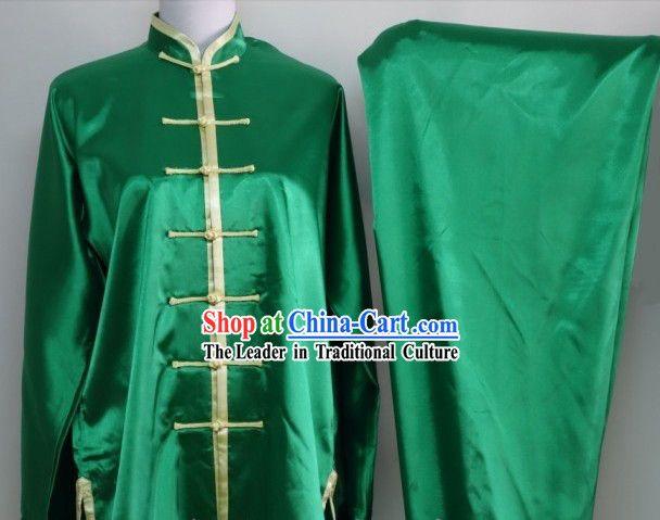 Professional Silk Dragon Dance and Lion Dance Uniform for Men or Women