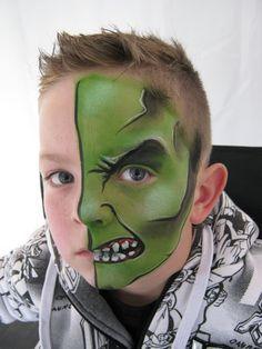 maquillaje artistico para hombres hulk - Buscar con Google