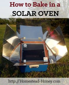 On our off-grid homestead, we bake in a solar oven year-round. Here are my top tips for baking and cooking in a solar oven.   Homestead Honey