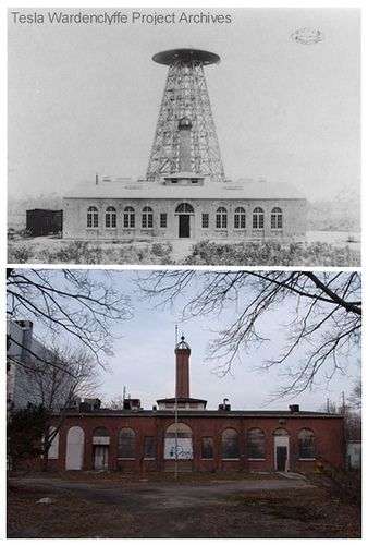 Wardenclyffe Tower. Nikola Tesla long island, this property was just purchased by a non profit that will turn it into a tesla museum....exciting
