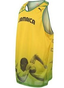 Ussain Bolt 2012 shirt