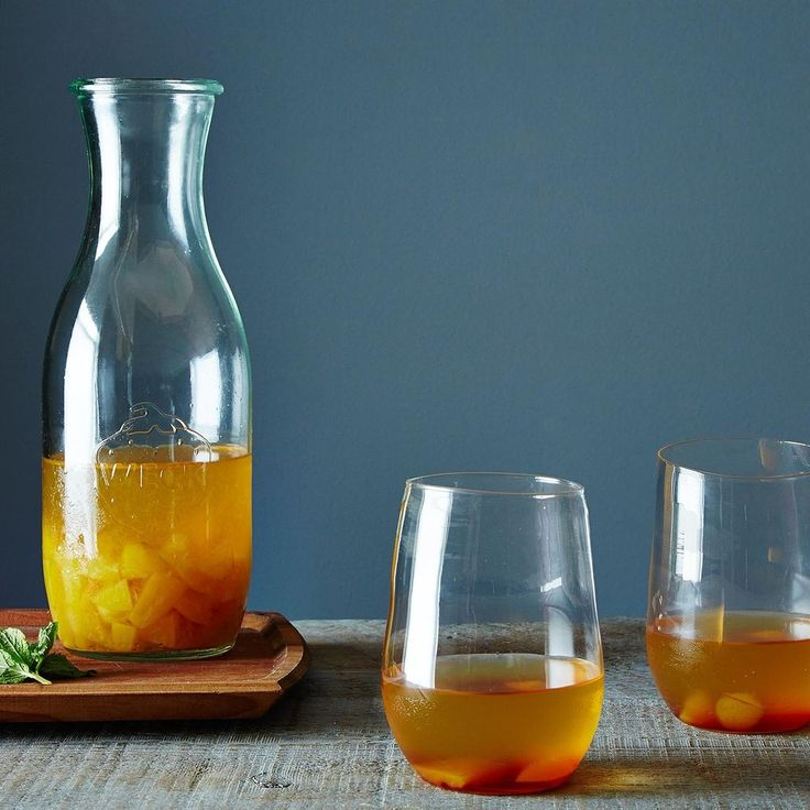 "Golden Plum Kir Royale ""Bowle,"" A Fruity Summer Wine Drink recipe on Food52"