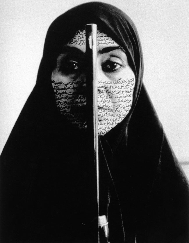 Shirin Neshat, Rebellious Silence, 1994 In: Women Artists in the 20th and the 21st century.